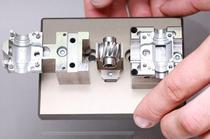 Baugruppe aus Frästeilen für die Zuführtechnik | Getriebetechnik | Verzahntechnik