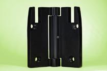 Faltband | Scharnier | Frästeil AlMgSi1,0 | eloxiert schwarz